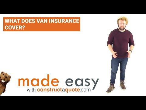 What Does Van Insurance Cover? | Made Easy | Constructaquote.com
