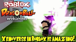 XENOVERSE IN ROBLOX IS AMAZING! | Roblox: Dragon Ball Online Revelations (Pre-alpha Build)
