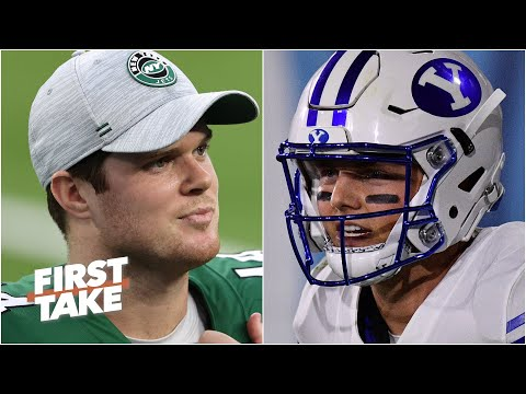 'Sam Darnold is a better quarterback than Zach Wilson, end of story!' - Mel Kiper   First Take