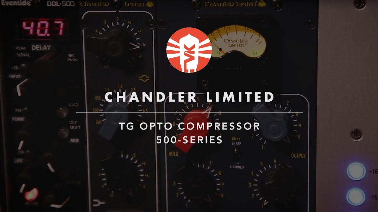 Chandler Limited Tg Opto Compressor 500 Series Module Vintage Audio Schematic King
