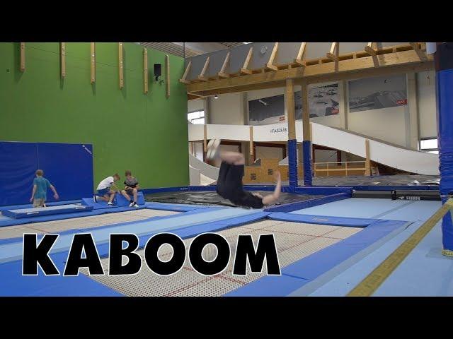 Trampolin Tutorial - KABOOM // Freestyle Academy Stuttgart