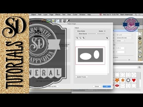 Part 1 - Converting Silhouette Studio Files To SVG Format #silhouettetutorials #learnsilhouette