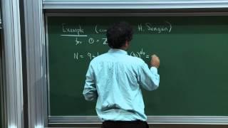 Akshay Venkatesh - 1/4 Analytic number theory around torsion homology