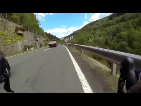 [HD+] Road Bike Ride from Seeboden to Kremsbrücke, Austria