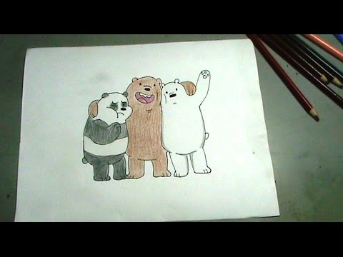 Aprende a dibujar los osos de Escandalosos Cartoon Network - YouTube