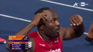 Final 200 m - EC Berlin 2018, Ramil Guliyev 4 cents to Mennea Pietro!