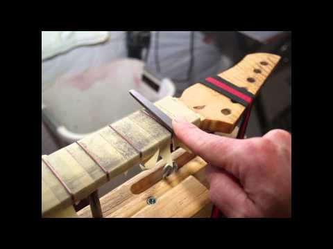 16 Steps to a Perfect Fret Job