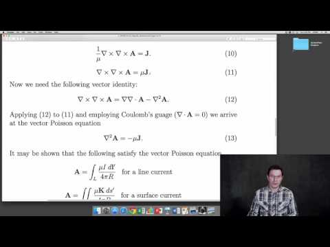 EE3310 Lecture 14: Magnetic Scalar and Vector Potentials
