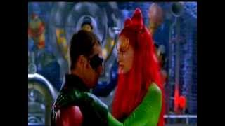 Poison Ivy Seducing Robin et Batman