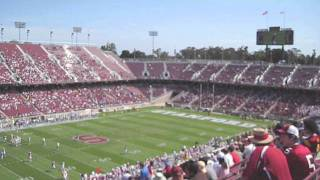 UCLA fans take over Stanford Stadium (Fall 2009)
