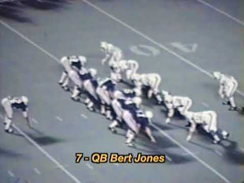 1973 Miami Dolphins vs College All-Stars Highlights with Radio Call