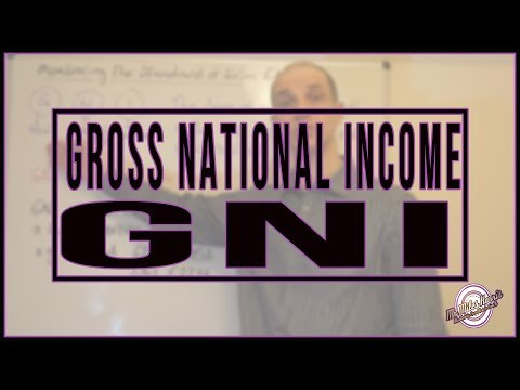 Gross National Income (GNI)