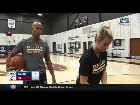 Allie and Richard Jefferson play FOX