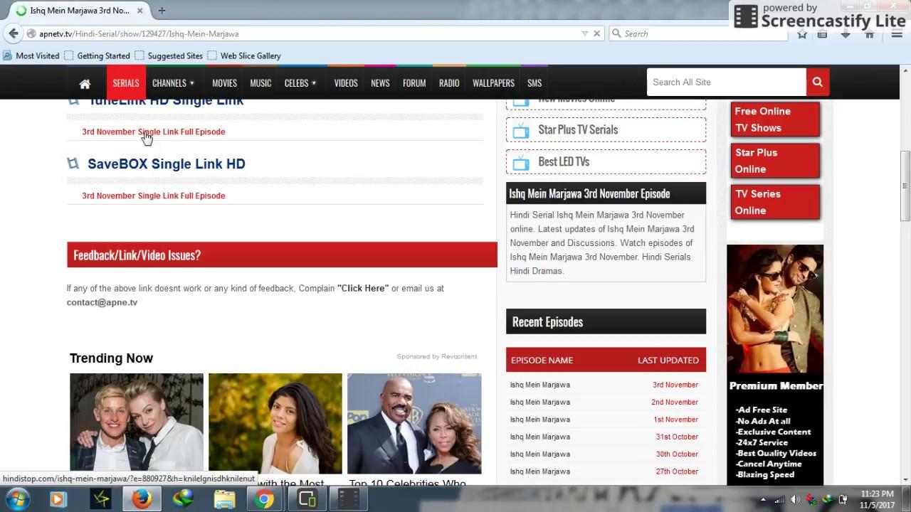 indian tv serial download website