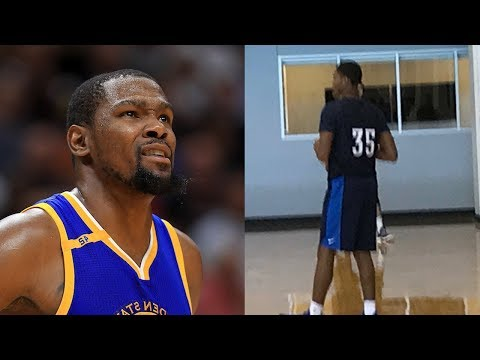 OKC Thunder TROLLS Kevin Durant with #35 Jersey