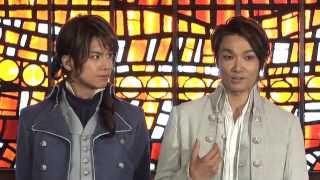 2013年7月18日(木)から上演されるミュージカル「二都物語」の囲み取材が...