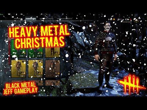Heavy Metal Christmas - Black Metal Jeff Gameplay - Dead By Daylight
