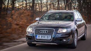 4K Audi A6 Allroad 4F 233hp 2007 POV Test Drive