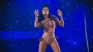 Откровенный танец в стиле Beyoncé от Алие Османовой шокировал киевлян.Pole dance show