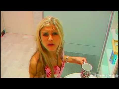 FUNNY Blond Girl Drinking FAIL