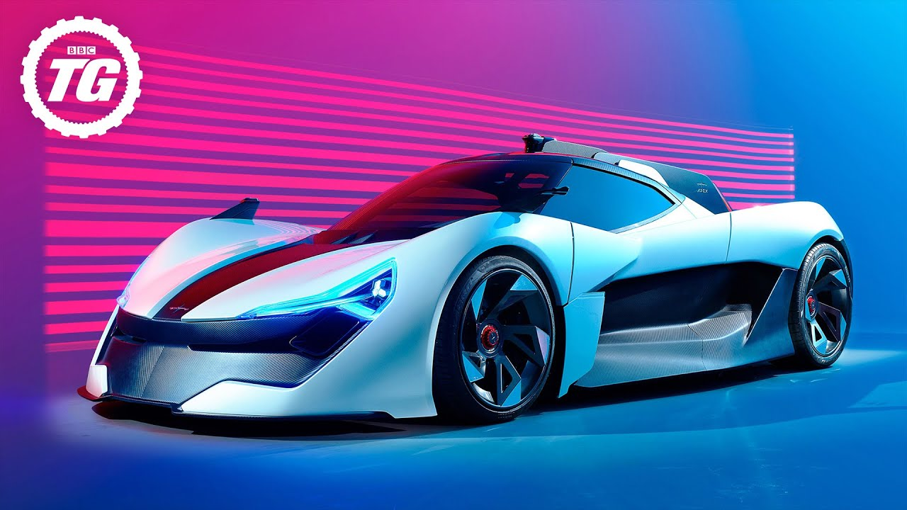 FIRST LOOK | Apex AP-0: the 650bhp electric supercar designed to be a cyber dragon | Top Gear