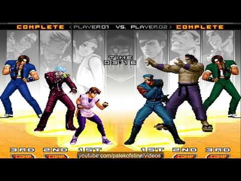 KOF 2002 UM - 浪子 (Langzi) VS Nikolai-保力達