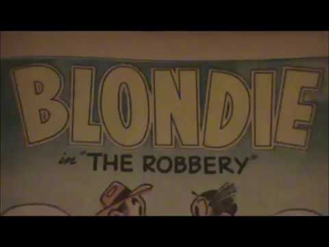 """COMIC MAN PRODUCTIONS: EARLY 2013 VERSION 1950'S Blondie #56 COMIC BOOK """"THE ROBBERY"""""""