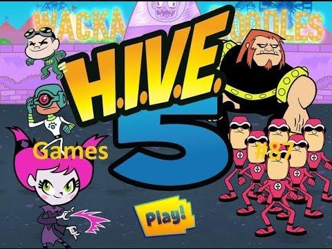 Teen Titans Go Games : H.i.v.e. 5