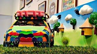 Дети со всего мира нарисовали автомобили будущего (новости)