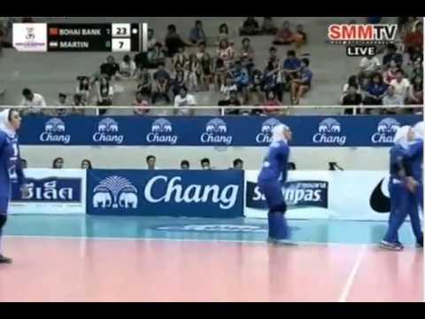 China vs Iran (Quarterfinals) - 2014 Asian Women's Club Championship
