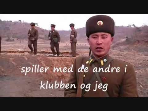 Sjov med undertekster ;  Koreansk soldater ;