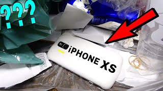 IS THIS THE NEW IPHONE XS?!? FOUND DUMPSTER DIVING GAMESTOP! Night #565