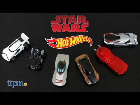 Star Wars: The Last Jedi Hot Wheels Character Cars from Mattel