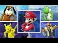 WHAT IF Every Character Tries To Do THE FORTNITE DEFAULT DANCE in Smash Bros Wii U? (Smash Mods)