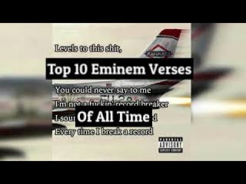 Top 10 Eminem Verses of All Time (With Lyrics)