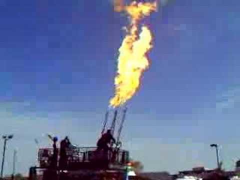 Controlled Burn - Nevada Day 2007