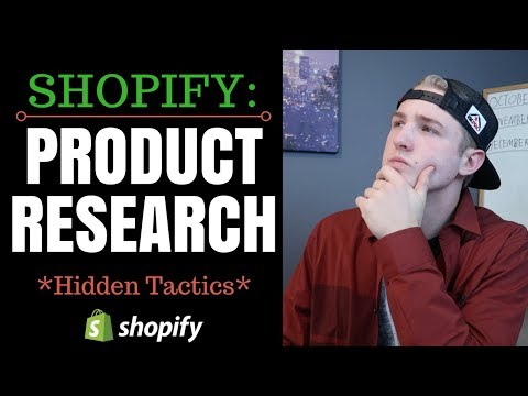 Shopify - Find Winning Products (Secret Tactics)