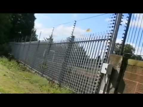 Electro Fence Electric Fencing Intruder Deterrent Youtube