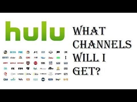 Hulu with Live TV  What Channels Will I Get?  ABC, NBC, CBS, FOX, ESPN, HGTV, A&E, AMC
