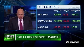 Jim Cramer: The market seems too optimistic about the recovery