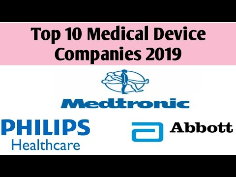 Top 10 Medical Device Companies In World 2019 |  Top Medical Device Company