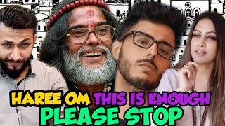 """Pakistani Reactions on """"HAREE OM"""" THIS IS ENOUGH PLEASE STOP by CarryMinati    Reaction Waley"""