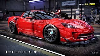Need for Speed Heat - Chevrolet Corvette Z06 2013 - Customize   Tuning Car (PC HD) [1080p60FPS]