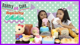 BAKERY AND CAKE SQUISHY COLLECTION