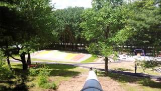 Huge slide at Triple F Farms in Monticello NY