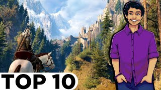 Top 10 BEST Video Game Worlds to Live In! - AsaiNeroTran