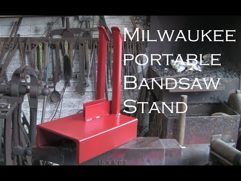 Milwaukee Portable Bandsaw Stand