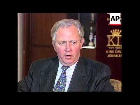 Israel - Visit President of EC Jacques Santer