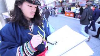 卓士がゆく〜あなたの顔、描きます〜 第一回「立川駅北口の顔」