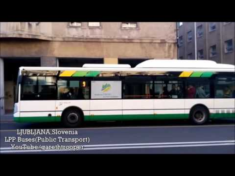LPP Buses in Ljubljana,Slovenia
